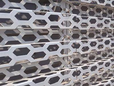外墙装饰冲孔网案例